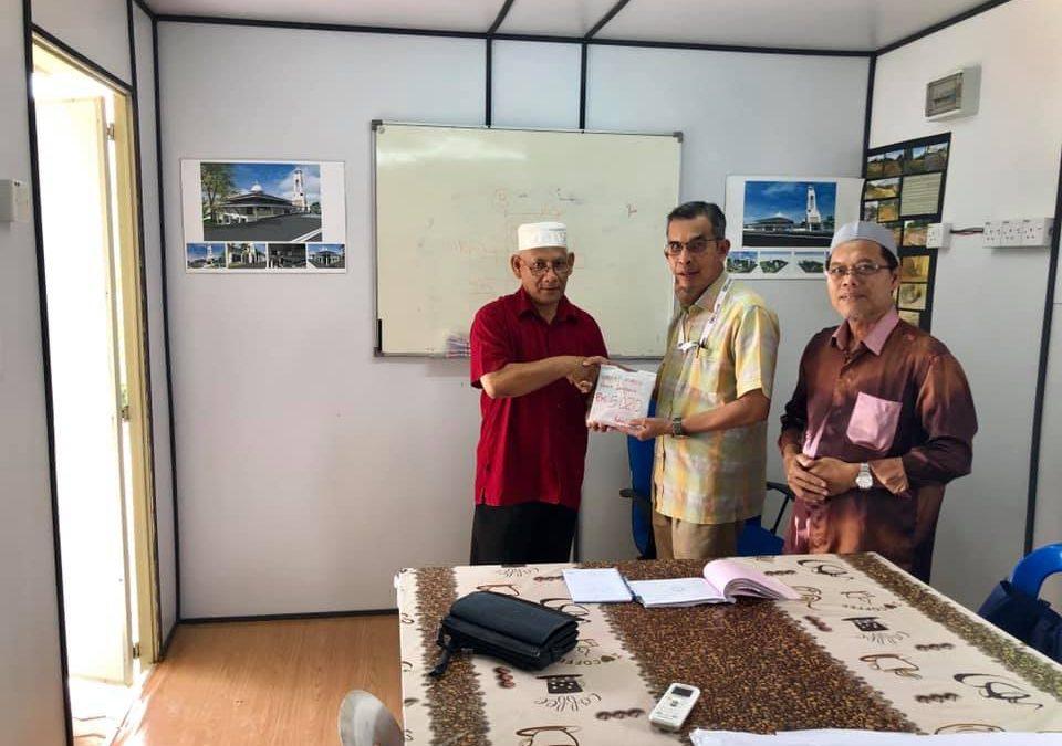 Kunjungan daripda wakil AJK Surau Al-Asmah, Taman Sri Jelok, Kajang