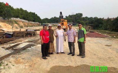Perkembangan Terkini Pembinaan Masjid